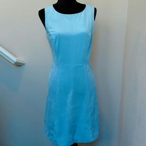 Lila Rose Faux Suede Ice Blue Dress Sz 8